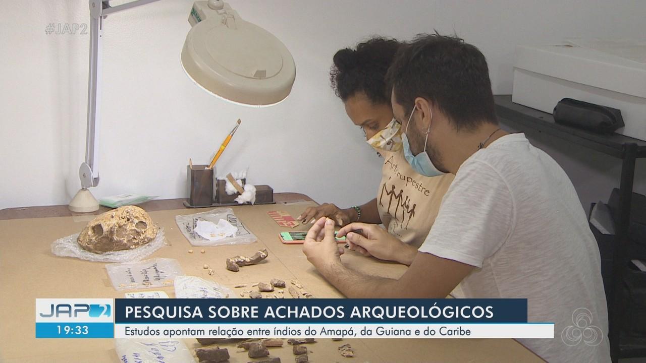 Pesquisa arqueológica revela relação entre indígenas do Amapá, da Guiana e do Caribe