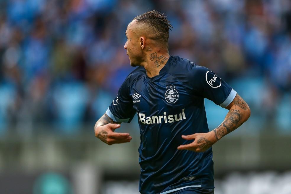 Everton marca e dá a vitória ao Grêmio sobre o América-MG (Foto: Lucas Uebel/Divulgação Grêmio)