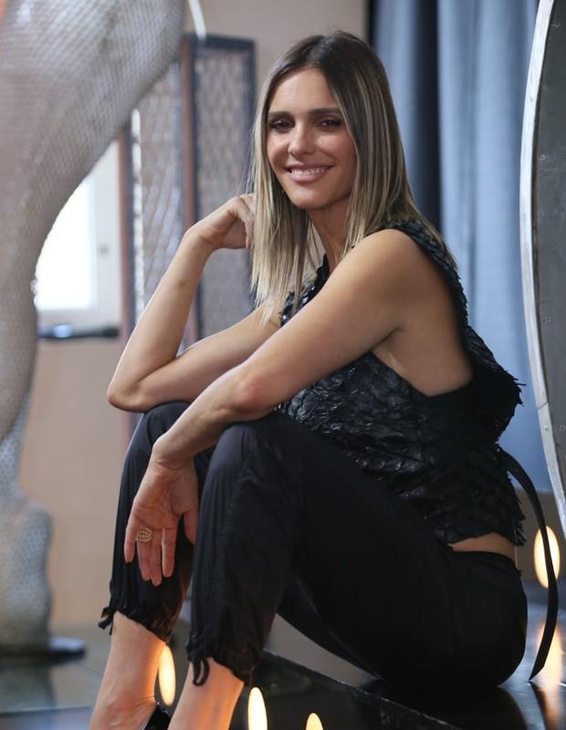 Fernanda Lima em lançamento da nova temporada do Amor & Sexo (Foto: Instagram/Reprodução)