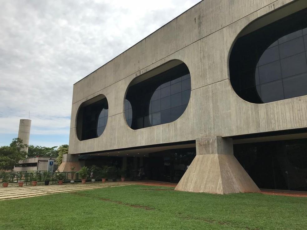 Fachada do Centro Cultural Banco do Brasil, em Brasília, onde funcionará o gabinete de transição do futuro governo — Foto: Divulgação