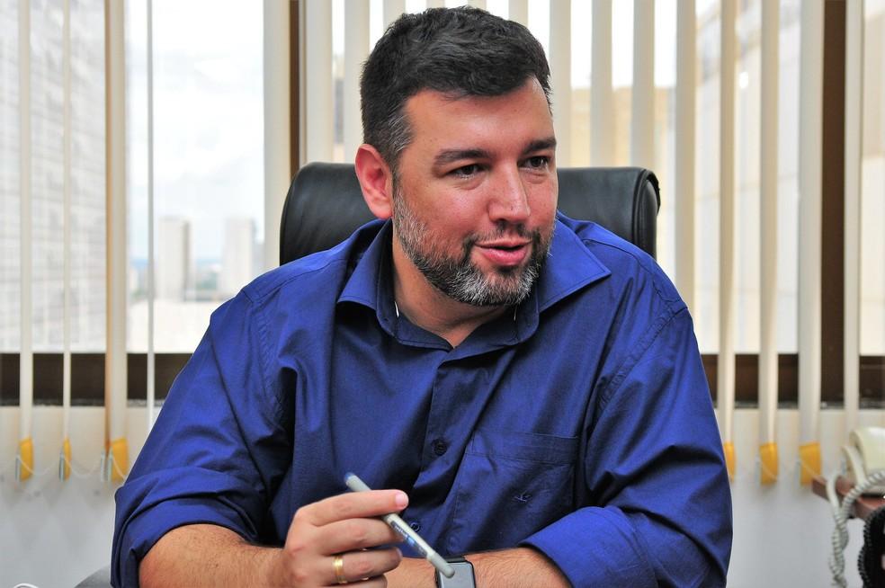 O secretário de Educação do Distrito Federal, Rafael Parente — Foto: Acácio Pinheiro/Agência Brasília