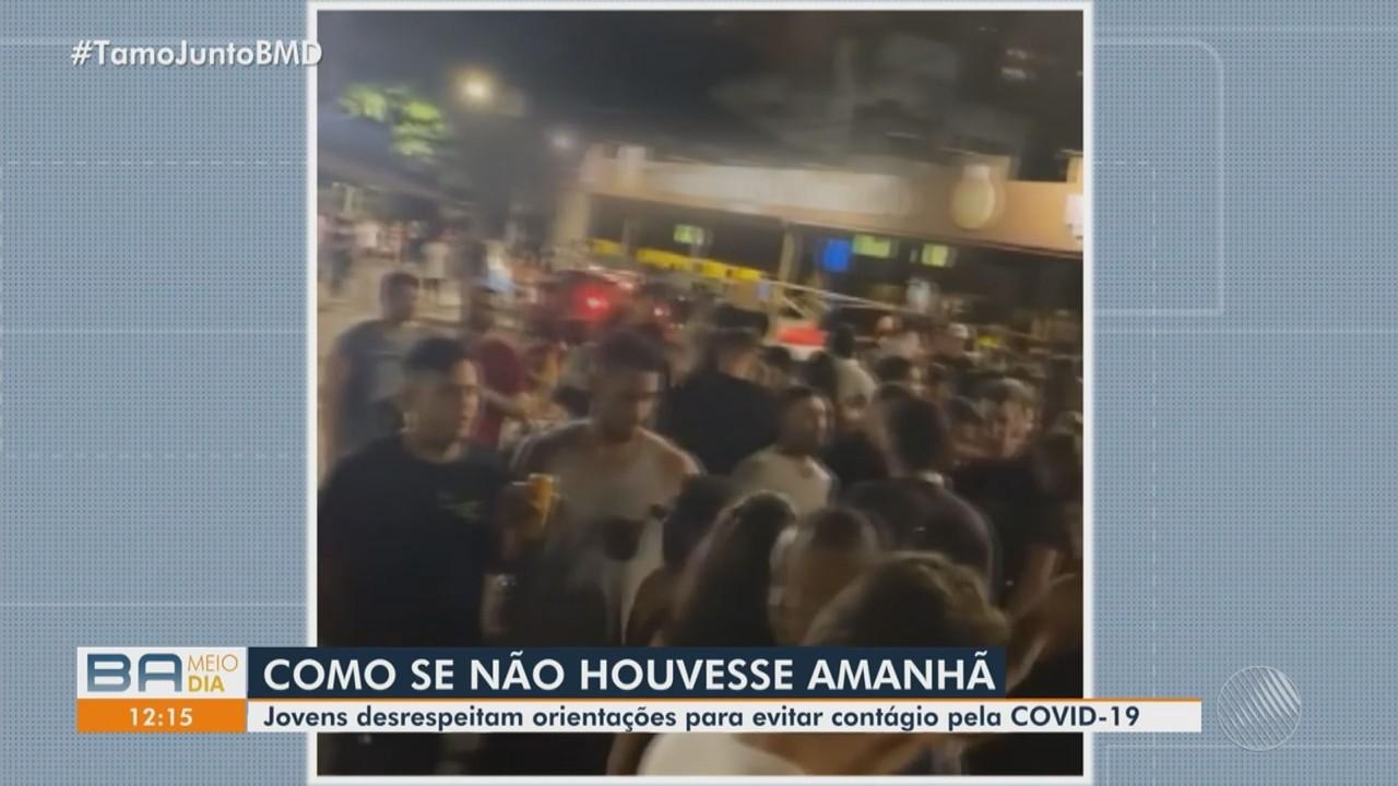 Casos de Covid-19 têm crescimento em Salvador; secretário fala sobre reabertura de leitos