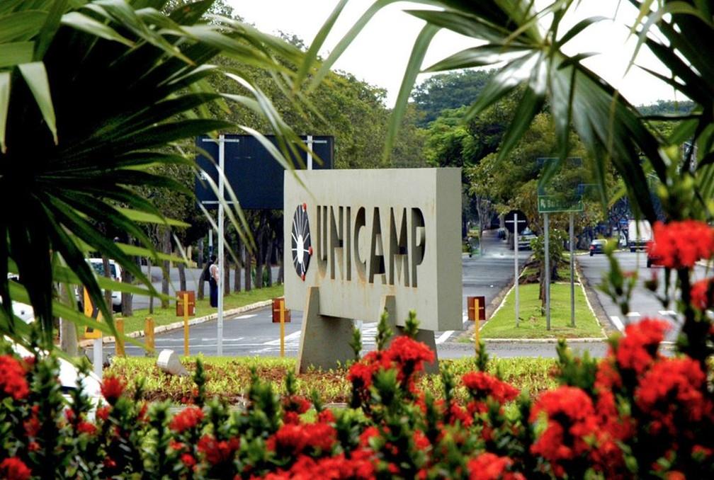 Acesso ao campus da Unicamp, em Campinas — Foto: Antoninho Perri / Unicamp