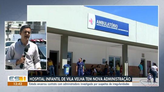 Novo instituto assume gestão do Hospital Infantil de Vila Velha, ES