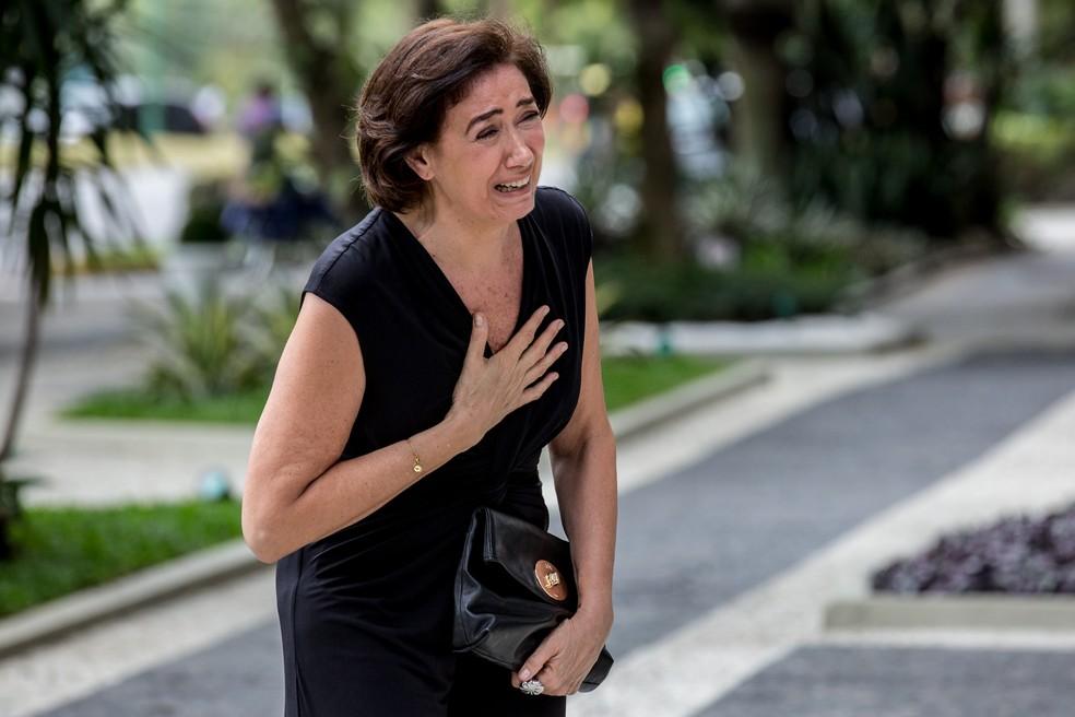 Em 'A Força do Querer', vício de Silvana (Lilia Cabral) em jogo colocará a vida de Simone (Juliana Paiva) em risco — Foto: Fábio Rocha/TV Globo