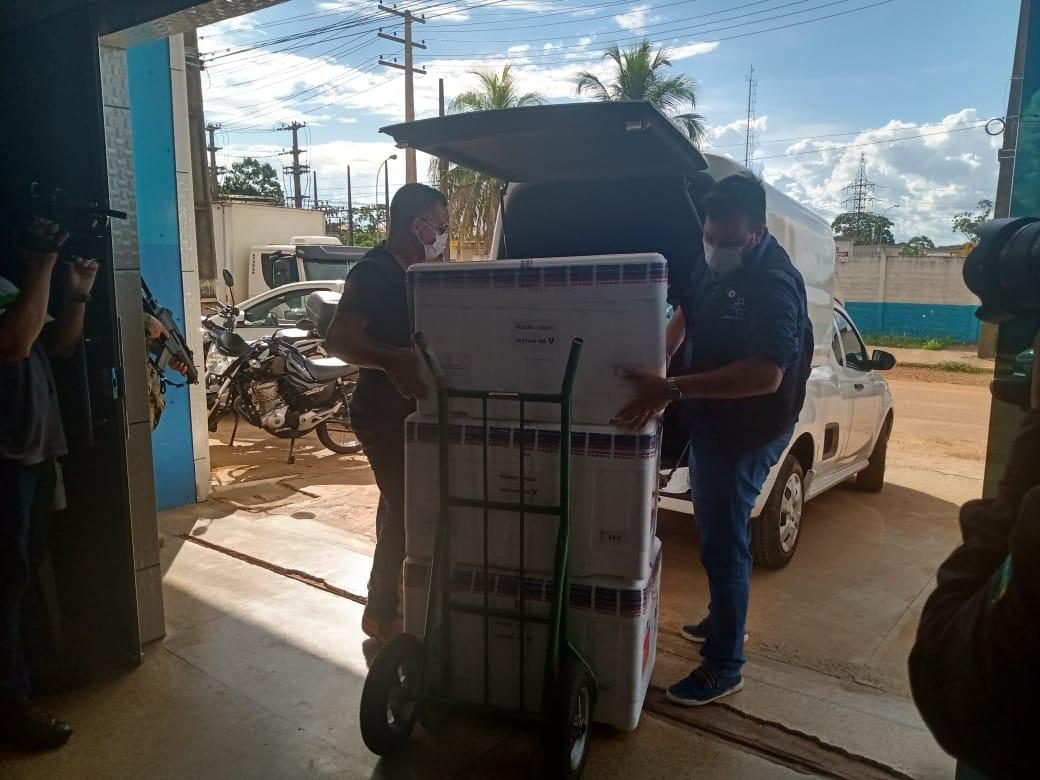 Rondônia recebe novo lote com mais de 28 mil doses da vacina AstraZeneca