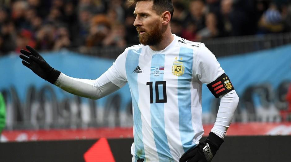 Lionel Messi, craque da Argentina. Empresa empresta dinheiro para quem desejar ver o jogador na Copa (Foto: Getty Images)