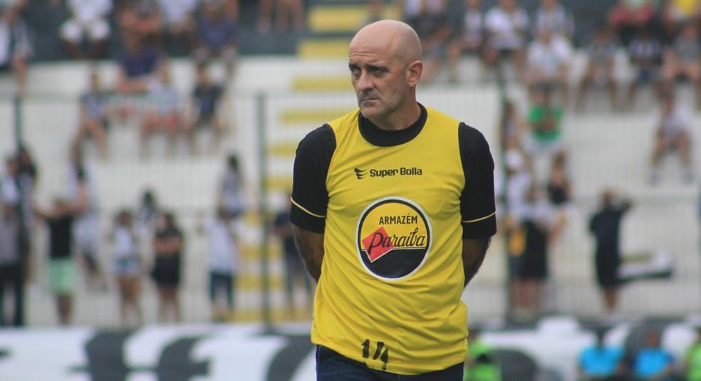 Itamar Schülle comandou o Botafogo-PB na conquista do título paraibano (Foto: Fabiano de Oliveira)