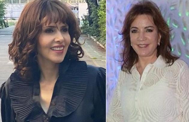 Leona Cavalli será Iris Abravanel, mulher de Silvio Santos, na mesma produção (Foto: Reprodução)