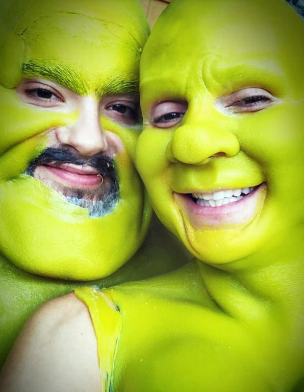Heidi Klum e Bill Kaulitz (Foto: Reprodução/Instagram)