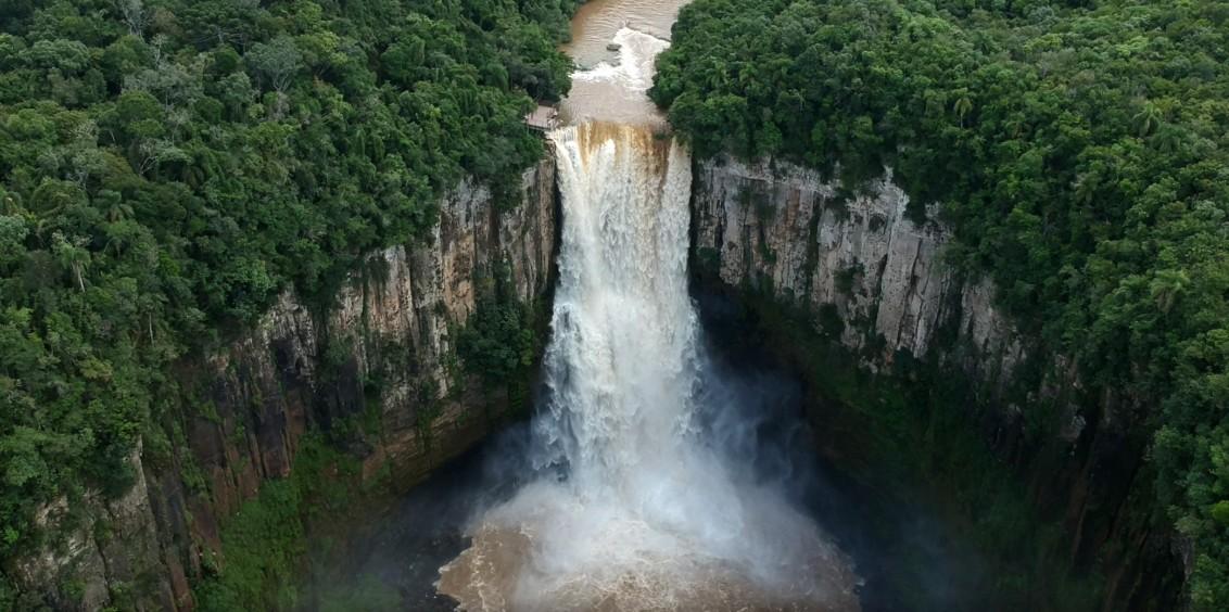 Salto São João, em Prudentópolis, reabre para visitação por meio de agendamento a partir de quarta-feira (12)