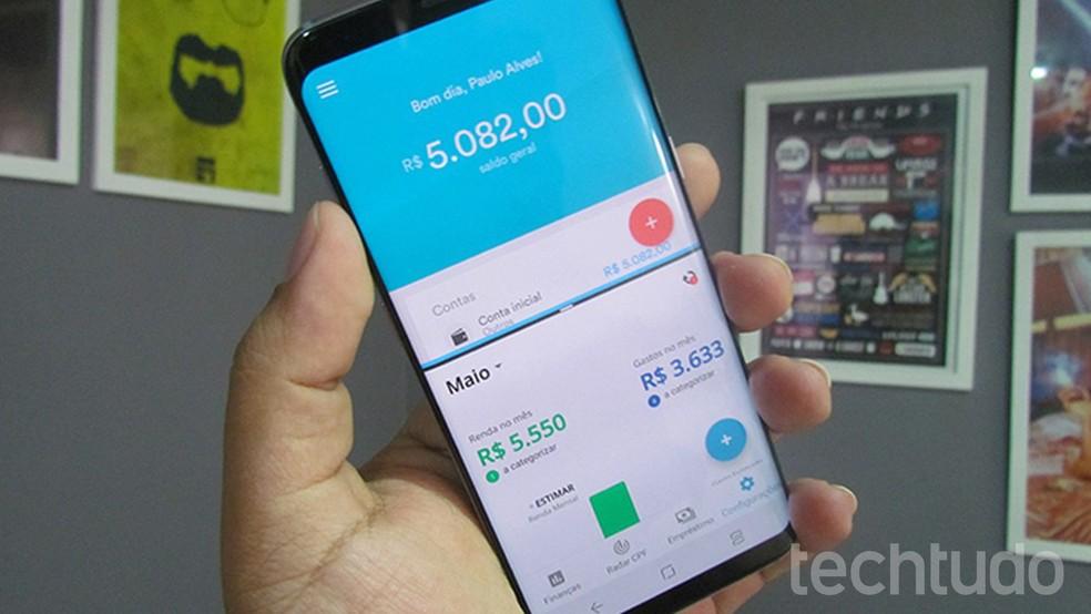 Apps permitem gerenciar suas finanças pessoais gratuitamente — Foto: Paulo Alves/TechTudo