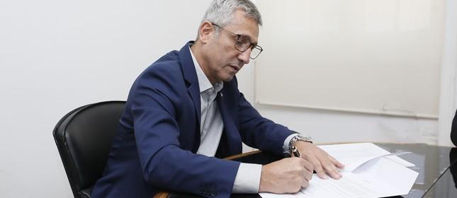 Alexandre Campello, presidente do Vasco