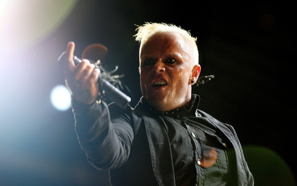 Keith Flint, vocalista do Prodigy, encontrado morto aos 49 anos — Foto: Alessia Pierdomenico/Reuters