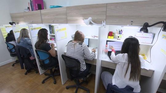 Empresária aposta em 'negócio humanizado' para quem precisa focar nos estudos