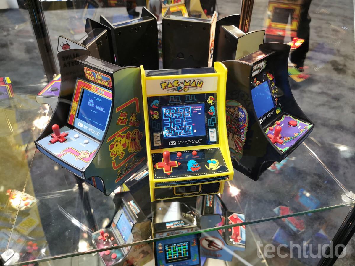 Conheça o Micro Player, novo minivideogame que revive os fliperamas