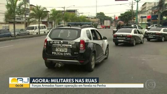 6 são presos em ação com Forças Armadas perto de quartel no Rio