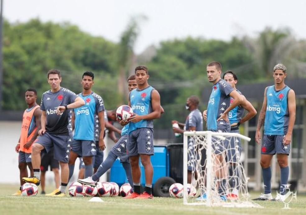 Garotos representarão o Vasco no início do Campeonato Carioca 2021 — Foto: Rafael Ribeiro/Vasco