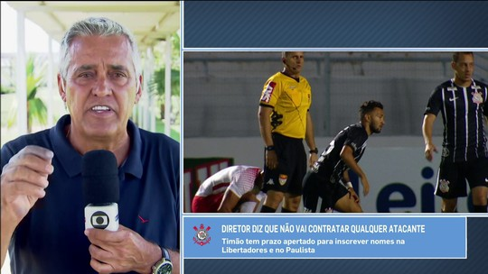 Déficit mensal de R$ 8 milhões atrapalha busca de Corinthians por atacante