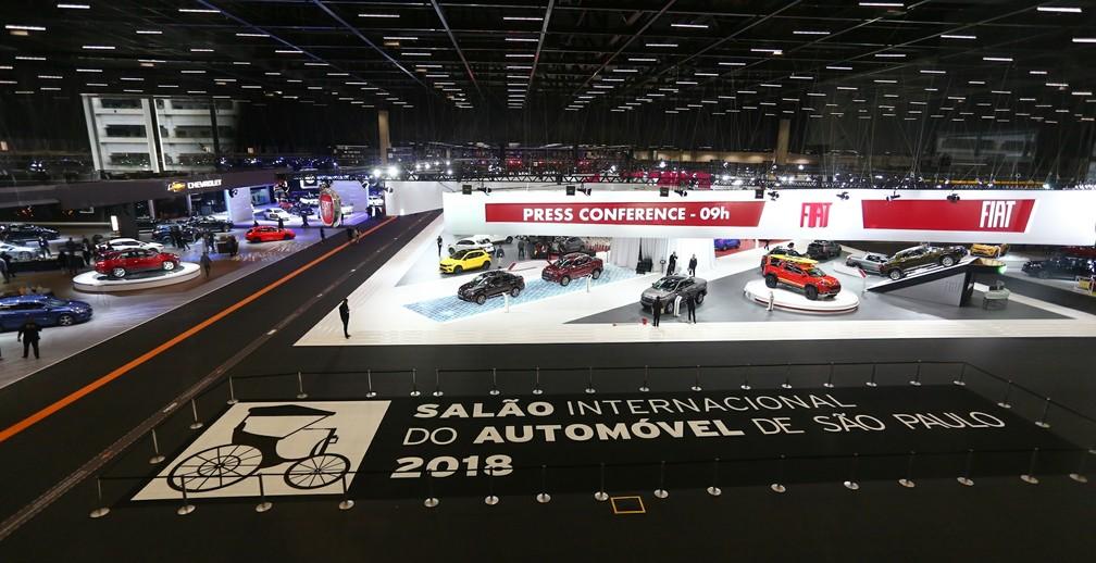 Salão do Automóvel de SP — Foto: Marcelo Brandt/G1