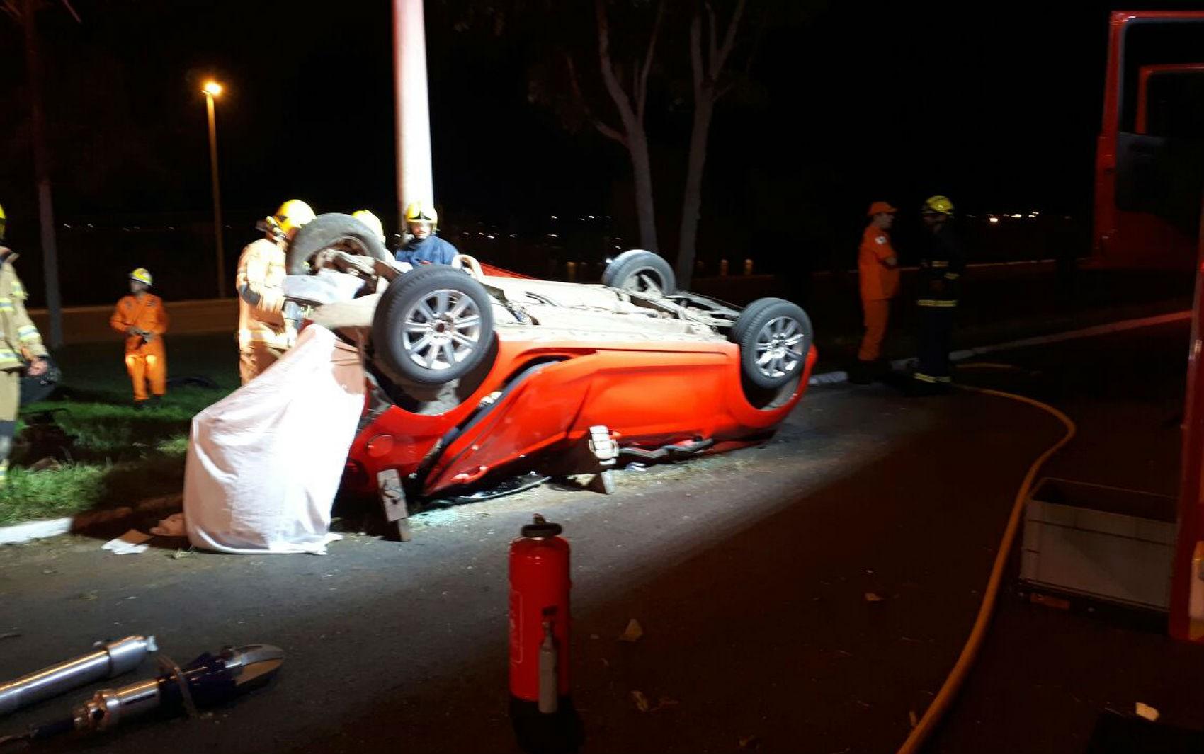 Ministério Público do DF pede prisão preventiva de motoristas acusados por acidente na L4 Sul