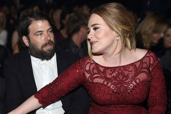 Adele e Simon Konecki (Foto: Getty Images)