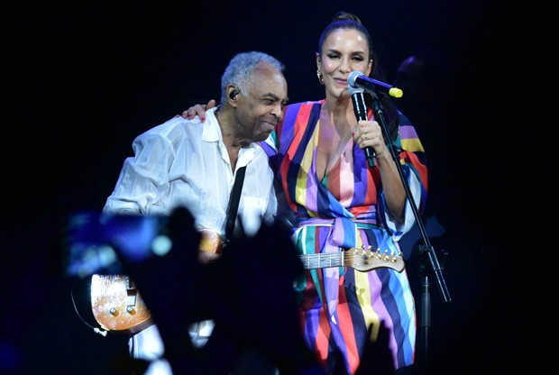 Gilberto Gil e Ivete Sangalo (Foto: Deividi Correa/AgNews)