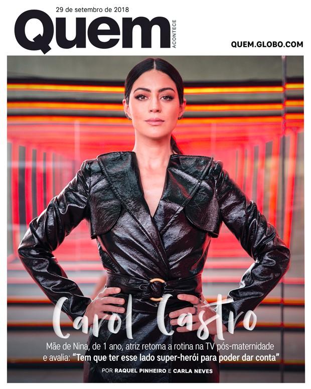 Carol Castro Capa (Foto:  )