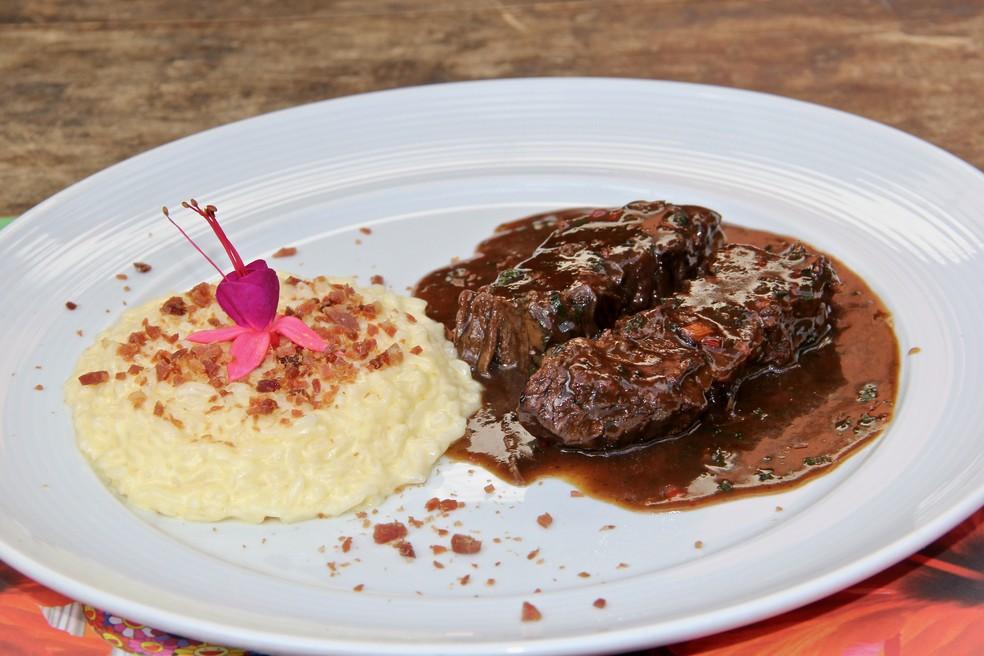 Prato da 20ª edição do festival Restaurant Week — Foto: Telmo Ximenes/Divulgação