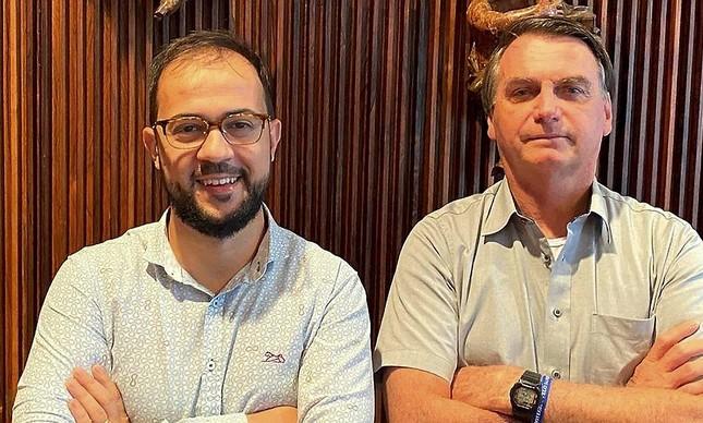Servidor Luis Miranda e Jair Bolsonaro