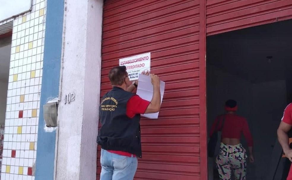 Academias foram interditadas no Rio Grande do Norte  — Foto: Divulgação