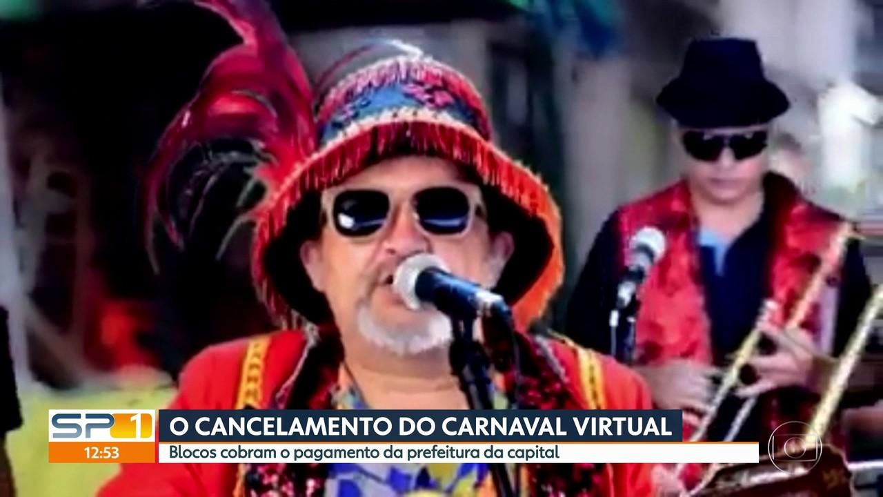 Blocos de carnaval SP cobram pagamento da prefeitura