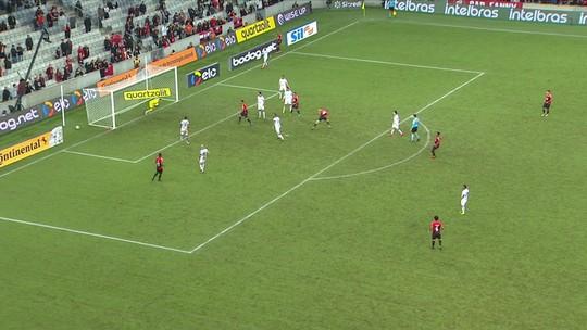 Veja o gol e os melhores momentos de Athletico x Fortaleza, pela Copa do Brasil