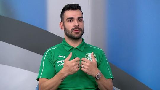 Bruno Henrique reconhece queda do Palmeiras após Libertadores, mas elogia o rendimento em 2019