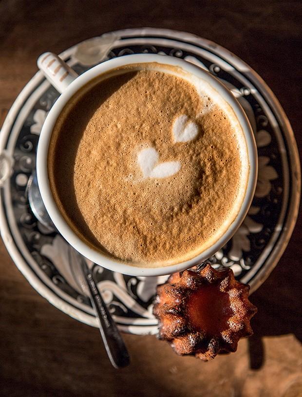 Lifestyle Chicago - Café com latte art. (Foto: Rogério Voltan)