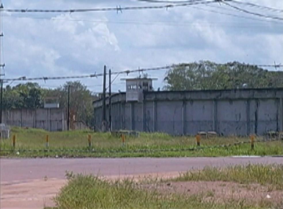 -  Centro de Recuperação Penitenciário do Pará I  CRPPI , no Complexo Penitenciário de Santa Izabel do Pará.  Foto: Reprodução/TV Liberal
