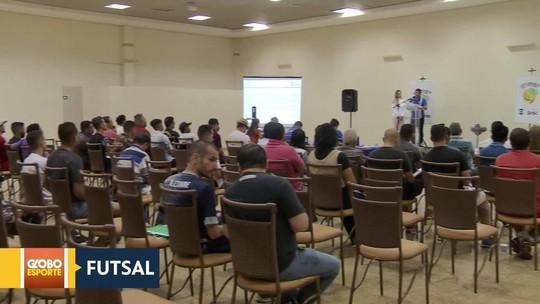 Sorteio dos grupos da Copa Brasília de Futsal