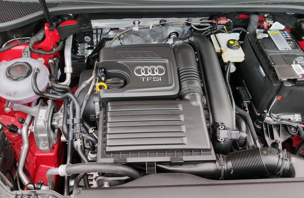 Motor 1.4 turbo já é velho conhecido, e estava na geração anterior do Audi Q3 — Foto: André Paixão/G1