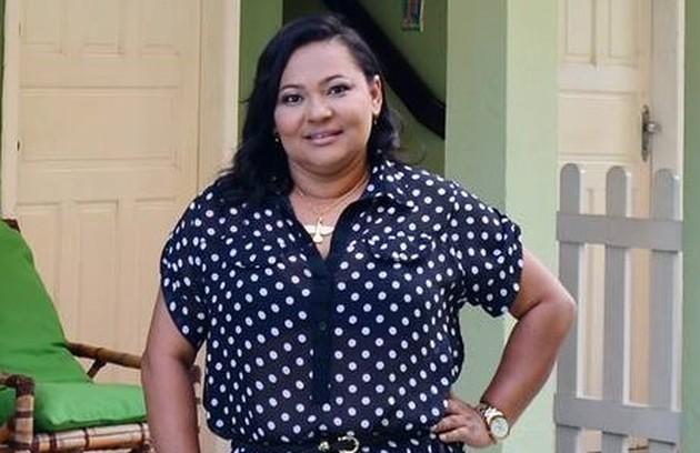 Mara, campeã do 'BBB' 6, elogia Ieda: 'É maravilhosa! Torço por ela'. A ex-'BBB' também gostou do médico Marcos (Foto: Elmo Landin/Extra)