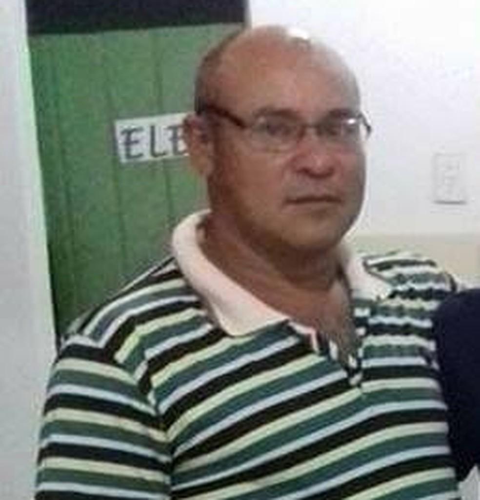 Elieudo Firmino da Costa estava fazendo a manutenção do pneu de um caminhão que veio a explodir e o feriu gravemente.  — Foto: Arquivo Pessoal