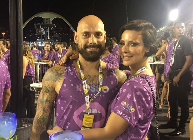 Camila Rodrigues e o namorado, Ighor Payola (Foto: QUEM)