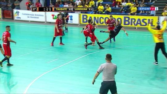 Taubaté e Pinheiros largam na frente pelas semis da Liga Nacional de Handebol
