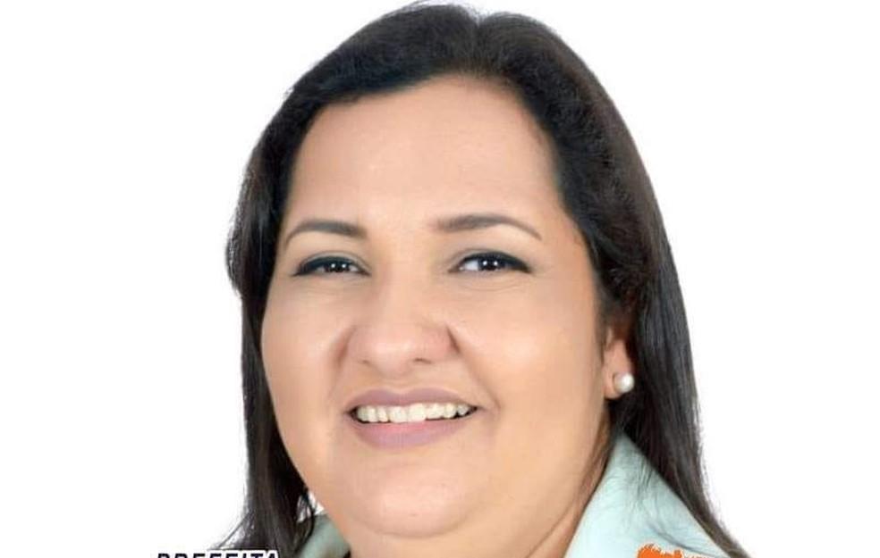 Luzia Brandão foi eleita prefeita de Ribeirão Cascalheira (MT) — Foto: Facebook/Reprodução