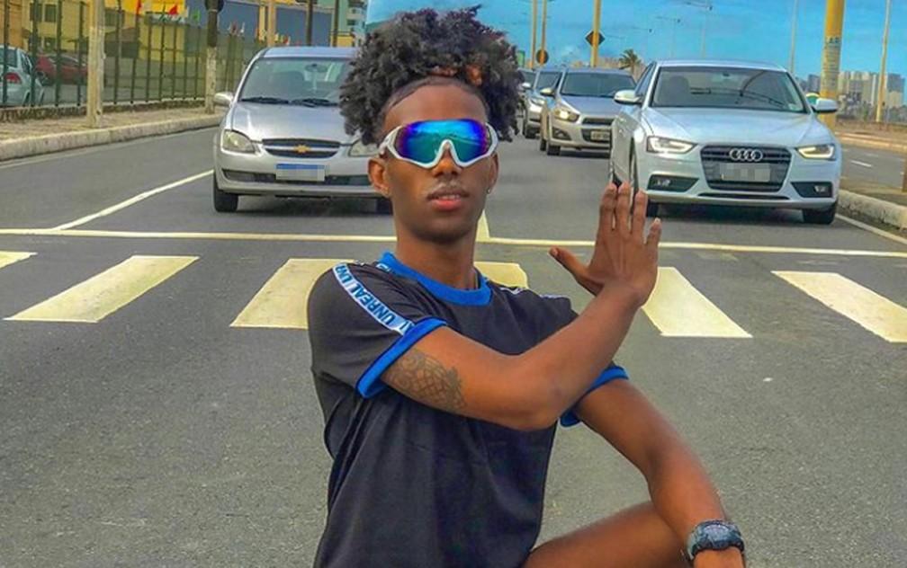 'Meu filho era só alegria', disse Patrícia — Foto: Reprodução/TV Bahia