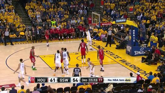 Cravada de Kevin Durant - 3ºQ: 61/56