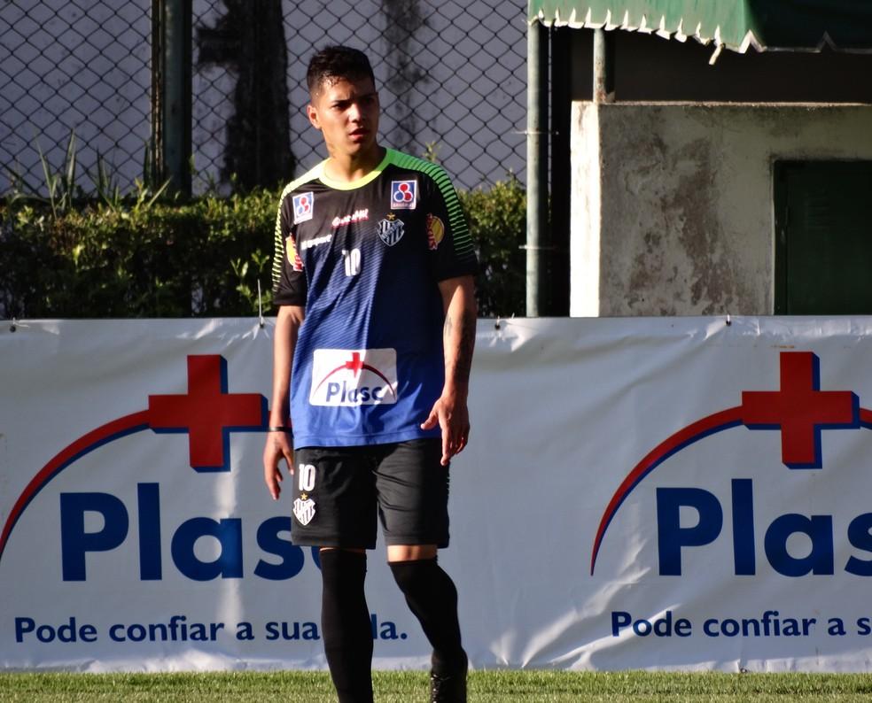 Andrey esteve emprestado ao Tupi nesta temporada (Foto: Bruno Ribeiro)