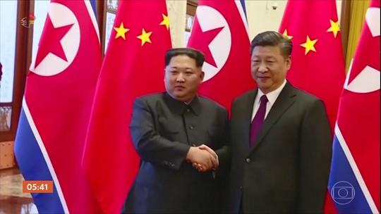 Presidente da China vai visitar a Coreia do Norte pela primeira vez