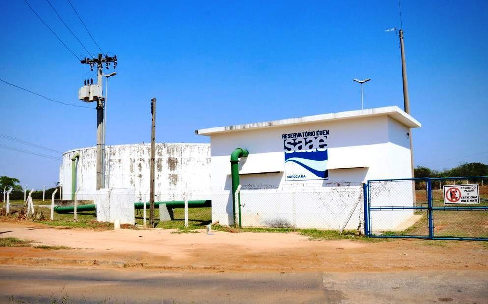 Serviços do Saae interrompem abastecimento de água na região do Éden em Sorocaba
