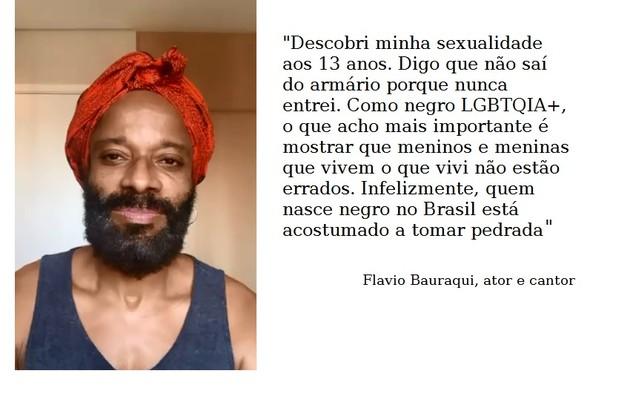 Flavio Bauraqui está no ar em 'Arcanjo renegado', do Globoplay (Foto: Reprodução)
