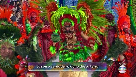 Samba da Mocidade Alegre exalta lendas amazônicas